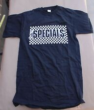 Vintage The Specials T-Shirt Checkerboard Black White M Album Promo Promotional