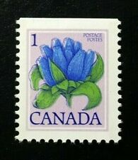 Canada #781a Top MNH, Bottle Gentian Floral Definitive Booklet Stamp 1979