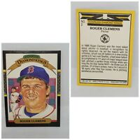 86 Donruss Baseball Diamond Kings Roger Clemens Boston Red Sox #2 Baseball Card