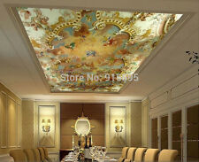 3D wallpaper Mural Painting Art European Greek Angel Background Interior Ceiling