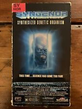 Syngenor Vhs South Gate horror Science Fiction Scifi Sov Oop Htf Cult Rare Gore