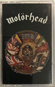 Motörhead – 1916 Cassette 1991 WTG Records – NT 46858