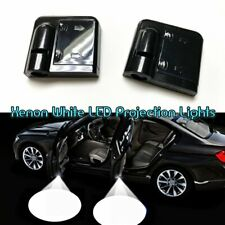2x Wireless Ghost Shadow Projector LED Door Courtesy Welcome Light For M.BENZ