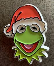 VTG Kermit The Frog Pin Christmas