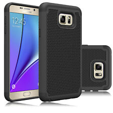 For Samsung Galaxy Note 5 Case Hybrid TPU Dual Layer Shockproof Hard Phone Cover