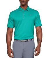 Under Armour Mens Shirt Green Size 2XL Activewear Short Sleeve Heat-Gear $39 171