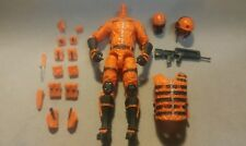MARAUDER TASK FORCE ORIGINAL ORANGE HAZARD OPS ACTION FIGURE ACCESSORY GEAR LOT