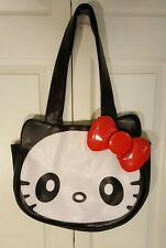 Hello Kitty w/ Puffy Bow by Loungefly Sanrio Large Tote Shoulder Bag Handbag