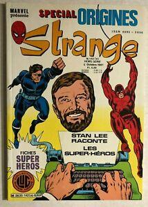 STRANGE #142 French color Marvel comic (1981) origins DAREDEVIL NICK FURY VG+