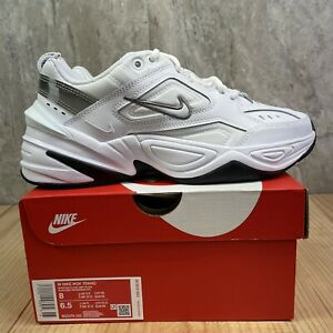 Nike M2K Tekno White Cool Grey Size 8 Womens Casual Running Shoes