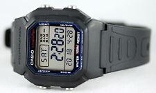 Casio Men's W800H-1AV Watch Digital Multi Function Sports 10 Year Battery New