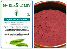 Organic Beet Root Powder Fresh & 100% pure Detox and Blood cleanser 1 lb
