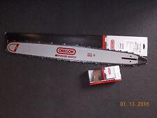 "28"" Oregon 280RNDD009  chainsaw guide bar & 72LGX093G Full chisel chain"