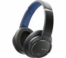 SONY MDR-ZX770BN NOISE CANCELLING BLUETOOTH HEADPHONES RECHARGEABLE BLUE NEW