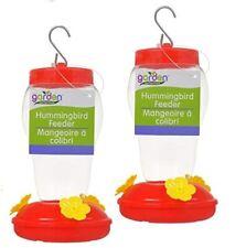 Garden Collection Quality Hummingbird Feeder - Set Of Two (2)