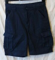 Boys Mountain Warehouse Blue Heavy Cotton Scouts Cargo Shorts Age 11-12 Years