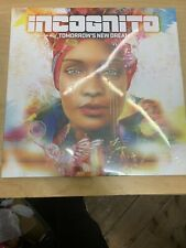 Incognito Tomorrow's New Dream 2LP Vinyl SEALED/NEW RARE