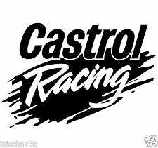 Set of 2 Castrol Racing Oil Decal Sticker