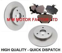 Smart Car, All Models, City, Four Two & Coupe Front Brake Discs & Pads