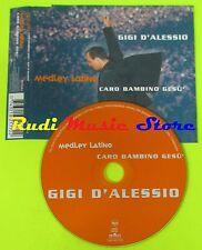 CD single Gigi d' alessio... LATIN/Dear Jesus Child 2000 MC DVD (s10)
