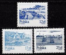 POLAND 1982 **MNH SC#2461+2463+2466 VISTULA RIVER