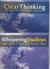 WHISPERING SHADOWS & CLEAR THINKING POLLY NICHOLS VG PBs PSYCHOEDUCATIONAL TEENS