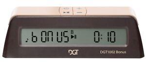 Schachuhr - DGT 1002 + Bonus - Schach Timer Uhr