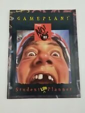 Vintage Mead No Rules Student Planner Agenda 1994 NEW