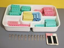 """Hair Curlers, Roller Pins, Clips, Plastic Magnetic, Snap-On 5/8"""" to 1-1/8"""" Lot"""