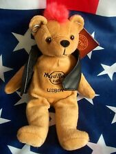 HRC hard rock cafe Lisbon Lisboa punk Bear Mohawk 2010 red hair Herrington