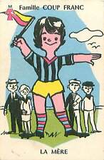 SPORT FOOTBALL MERE HUMOUR HUMOR 50s PLAYING CARD CARTE A JOUER