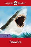 Sharks - Ladybird Readers Level 3 - Children's Book Aus Stock