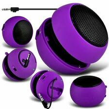 Purple Portable Capsule Rechargeable Compact Speaker For Nokia Lumia 925