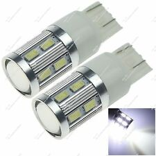 2X 7443 W3X16D 12 SMD 5630 1 Cree Q5 LED Brake Light Clearance Bulb Car Z20048