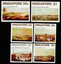 SINGAPORE  Scott 144-149 Views of Singapore Mint NH