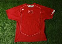 TURKEY NATIONAL TEAM 2004/2006 FOOTBALL SHIRT JERSEY HOME NIKE ORIGINAL SIZE M