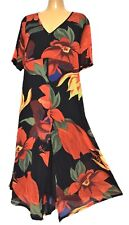 TS dress TAKING SHAPE plus sz XS / 14 Congo Dress stretchy vibrant rrp$130