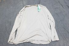 US Military Undershirt Shirt Warm Cold Weather XX-Large Men's Thermal Top Sand