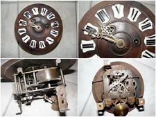 Cadran et son mécanisme pour horloge ancienne