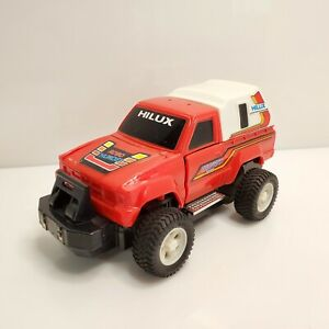Vintage The Thunder Robo Robot Toyota New Hilux 2wd Truck Red