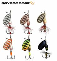 Savage Gear Rotex Spinner Fishing Lure 3.5 - 14g Various Colours