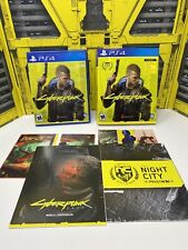 Cyberpunk 2077 - PlayStation 4 (Free PS5 Upgrade) w/ Inserts/Map/Slipcover