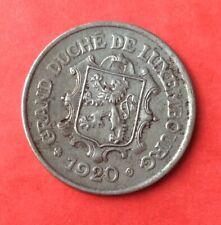 Luxembourg - Très Jolie  monnaie de 25  Centimes 1920