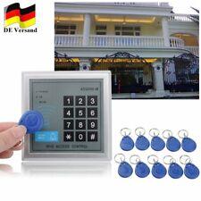 RFID Codeschloss Zugangssystem Sicherheit Zutrittskontrolle Türöffner 10 KeyFobs