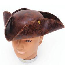 Marrón Tricornio Sombrero de Pirata