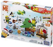 Minions Movie Advent Calendar Kids Building Toys Lego Xmas Gift Set Pack Figures