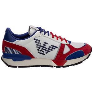 Emporio Armani sneakers men X4X289XM499Q098 logo detail Pelle shoes trainers
