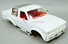 RC 1/10 Truck HARD Body Shell TOYOTA PICKUP TRUCK Scale Body Shell WHITE