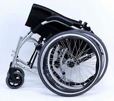 "Karman Ergonomic Wheelchair Ergo Flight Quick Release Axles S-2512Q 18"" NEW"