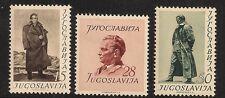 YUGOSLAVIA 1952 MARSHAL TITO 60thBIRTHDAY set SG:727-729